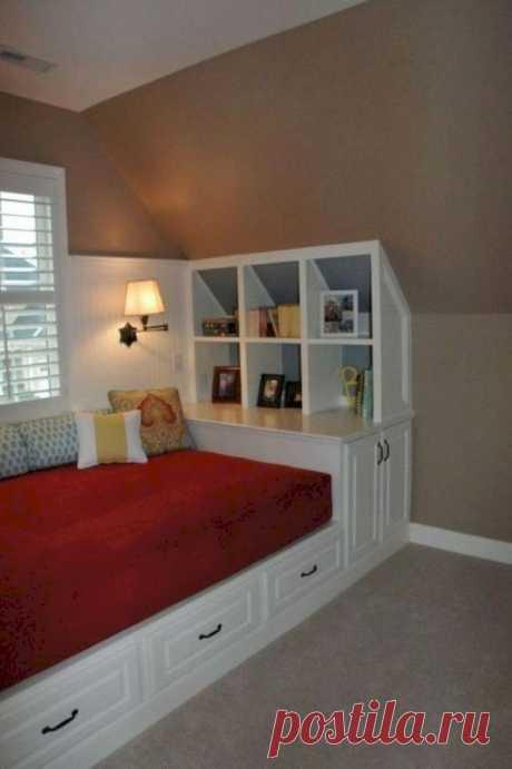 Функциональные кровати с системами хранения