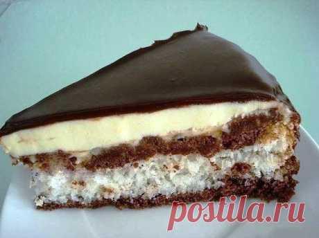 Торт конфета Баунти рецепт Торт конфета Баунти рецепт Ингредиенты: Для теста: