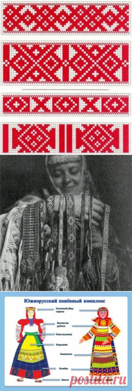 Русские узоры, орнаменты, символика, значение