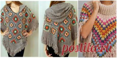 How To Crochet a Cloak – Poncho.   Your Crochet