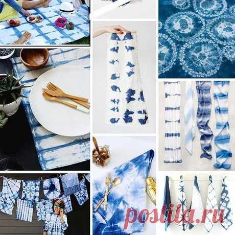 Лето в стиле тай-дай: 7 ярких идей для преображения обычных вещей — Мастер-классы на BurdaStyle.ru