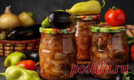 Румынская овощная закуска: рецепт от Шефмаркет