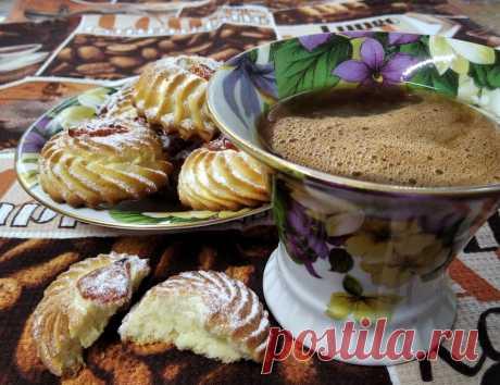 В этом хрупком печенье нет ни грамма разрыхлителя | Рецепты от Светланы Печенкиной | Яндекс Дзен
