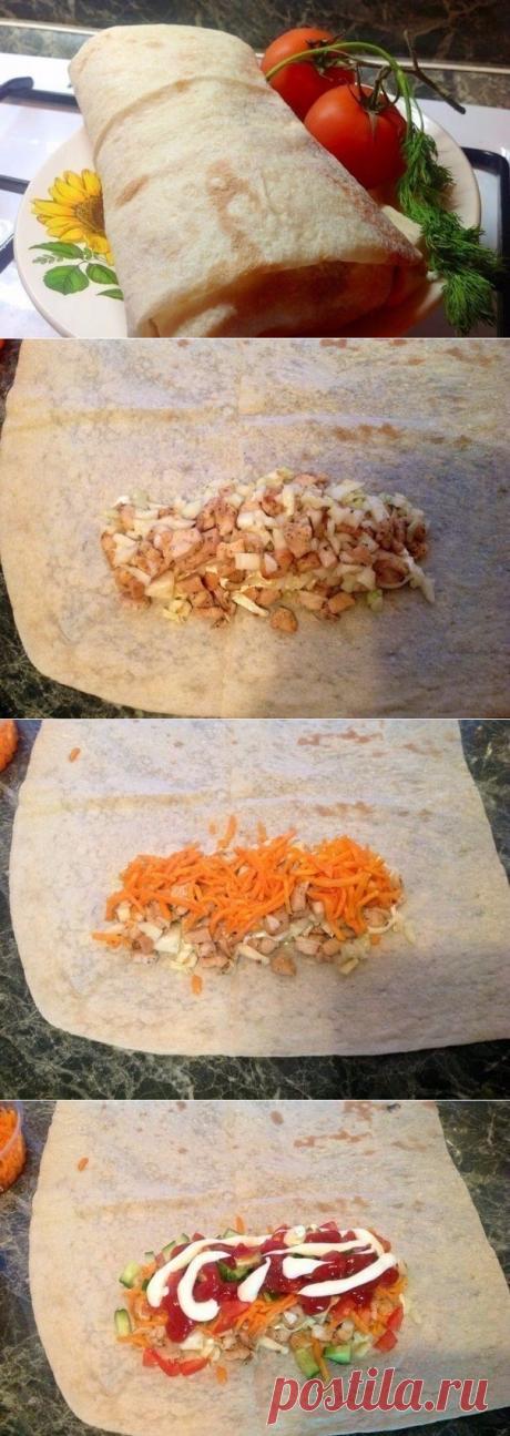 Как приготовить шаурма  - рецепт, ингредиенты и фотографии