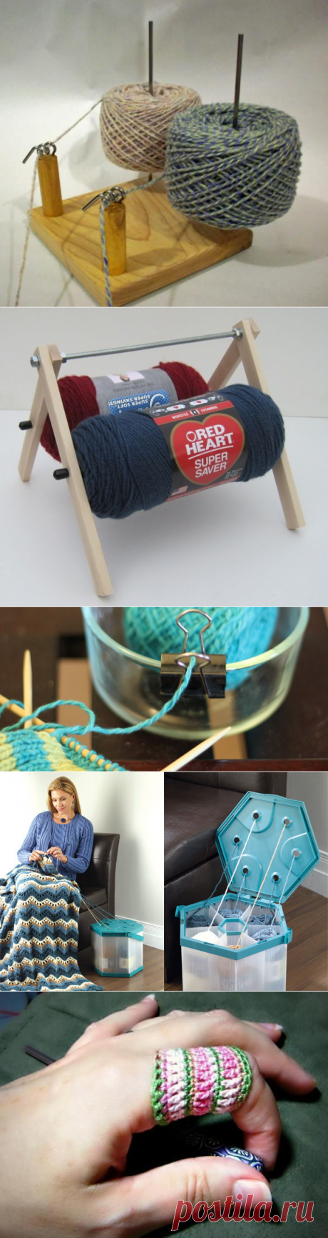 To knitters on a note: 15 layfkhak for knitting - the Fair of Masters - handwork, handmade