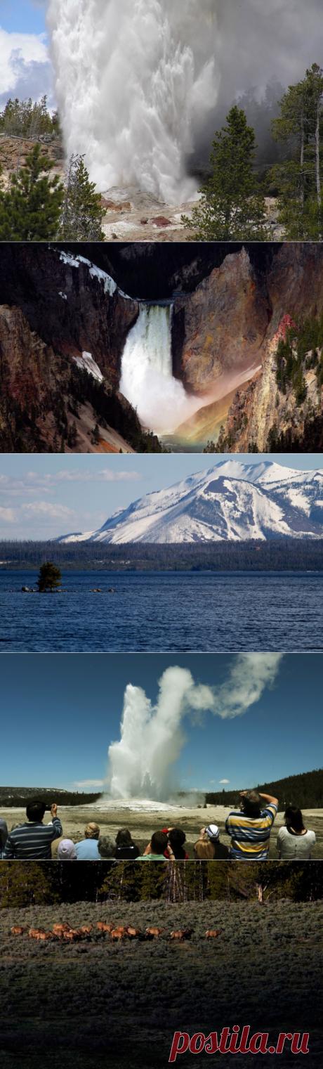 Уникальные достопримечательности Национального парка Йеллоустойн в США — Туризм