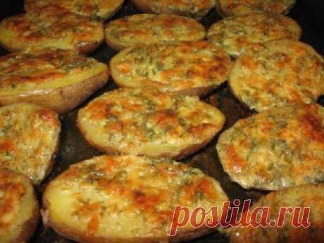 Чесночная картошка | Лучшие рецепты с фото