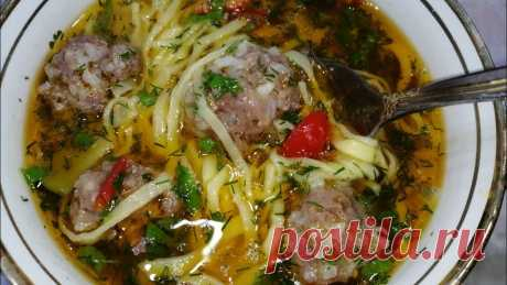 ТАКОЙ СУПЧИК ХОТЬ КАЖДЫЙ ДЕНЬ ПОДАВАЙТЕ!Узбекский суп Угра Гужа с фрикадельками. МУЗЫКА ИЗ КАНАЛА SHOXRUX JAMOL https://youtu.be/dM4-Mz51lToИнгредиенты Для теста1 яйцо 1 ст муки (ст 200мл) Немножко воды 1 чл соли Для супа 1 лукБолгарский ...