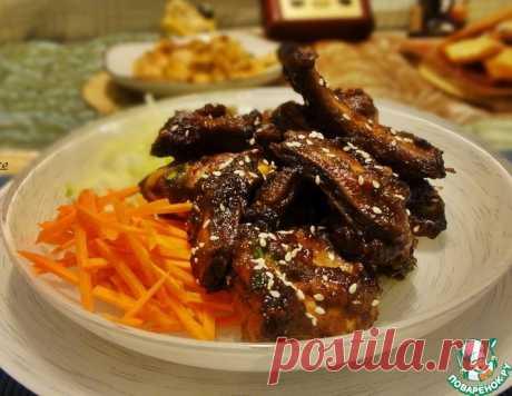 Свиные рёбра в соевом соусе по-корейски – кулинарный рецепт