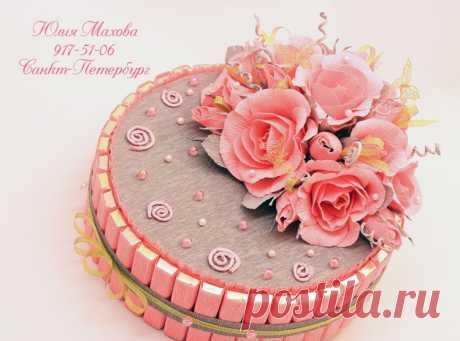 Gallery.ru / Фото #3 - Торты и тортики из шоколада. - MamaYulia