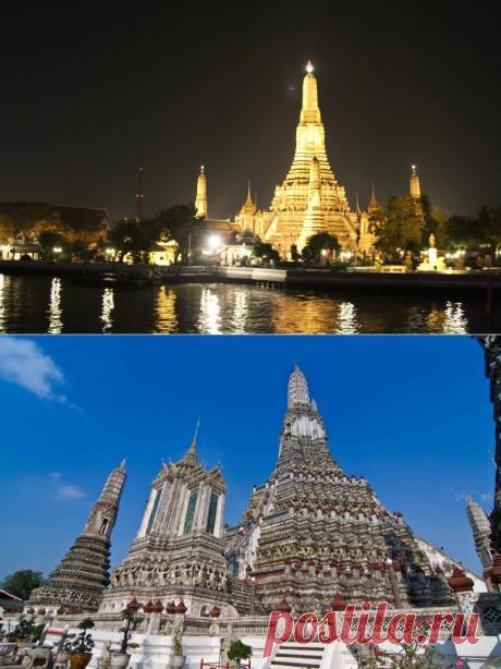 Ват Арун (Бангкок, Таиланд). — Путешествия
