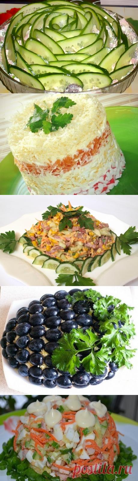 5 праздничных салатов | Очень вкусно