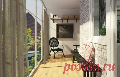 10 причин остеклить балкон этой весной | Свежие идеи дизайна интерьеров, декора, архитектуры на INMYROOM