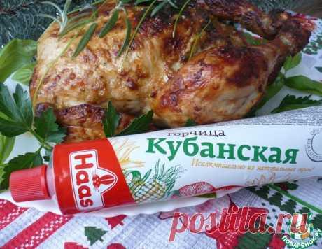 Курица с горчицей, запеченная в духовке – кулинарный рецепт
