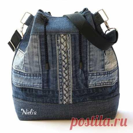 Nielia - сумки из джинсов (часть2)