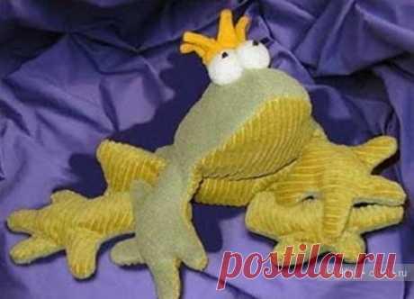 Лягушка. Выкройка мягкой игрушки / Тильда, мягкие игрушки своими руками, выкройки / КлуКлу. Рукоделие - бисероплетение, квиллинг, вышивка крестом, вязание