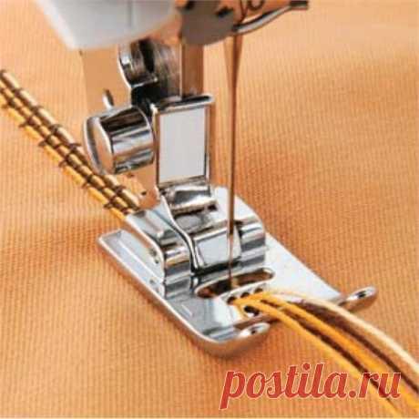 Лапки для пришивания шнура — Сделай сам, идеи для творчества - DIY Ideas