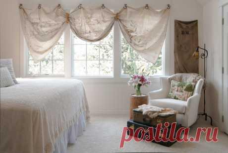 Стандартные шторы из магазина — скучные? Предлагаем 17 способов красиво повесить шторы