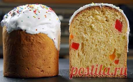 Куличи к Пасхе без долгих хлопот: быстро замешали тесто и выпекаем за 35 минут