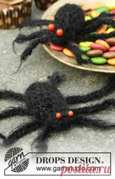 Вязание паука. Как связать паука крючком