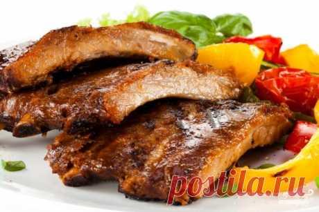 Для любителей мясных блюд! «Мандариновые» ребрышки — Фактор Вкуса