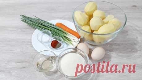 Картофельные котлеты с секретом — Кулинарная книга