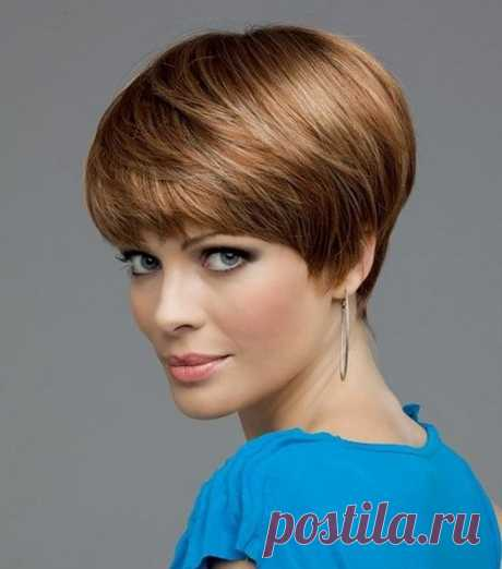 The most fashionable female hairstyles on short hair of 2018-2019 photos, beautiful short hairstyles for women of idea