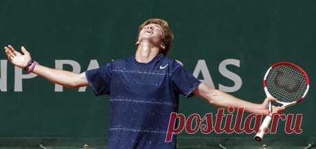 Триумф российских теннисистов на Roland Garros .Андрей Рублев