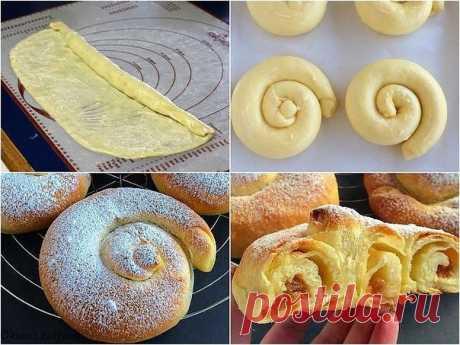 Испанские булочки Ensaimadas