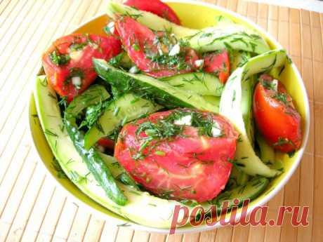 Быстрые малосольные овощи ассорти