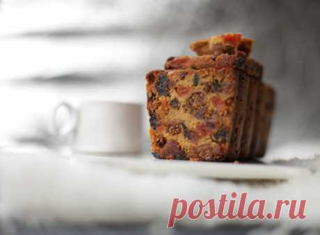 Winter fruit cake, or favourite Christmas delicacy)