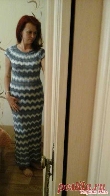 Платье Миссони - Страна Мам