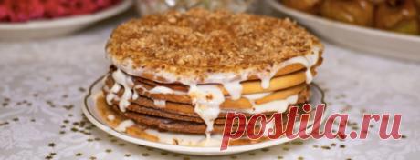 Медовый торт со сметанным кремом + полезные советы | Polaris - о еде и гаджетах | Яндекс Дзен
