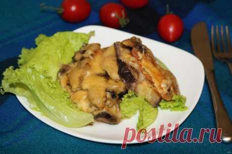 Запеканка с грибами и баклажанами - пошаговый рецепт с фото на Повар.ру