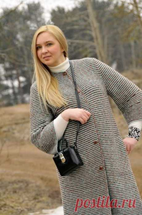 Вязаное пальто April - Вяжи.ру