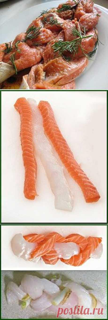 """Запеченные """"Косички"""" из рыбного филе"""