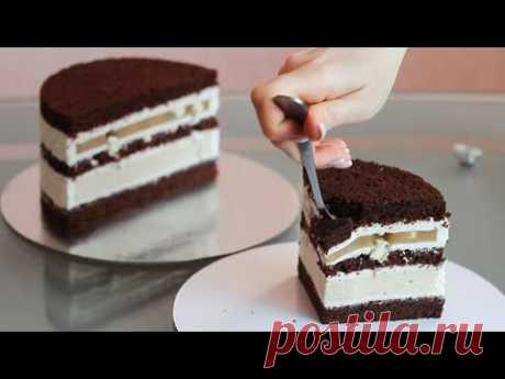 """ШОКОЛАДНЫЙ ТОРТ """"ГОЛУБОЕ ЗОЛОТО"""". Секретный ингредиент для торта. Самый вкусный шоколадный торт."""