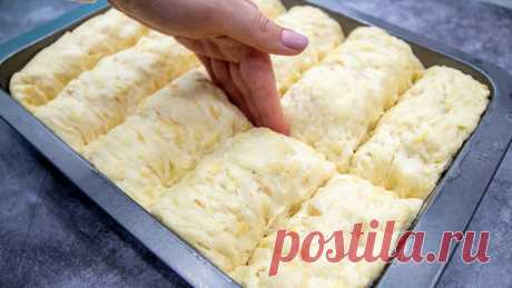Научилась готовить воздушный и очень вкусный хлеб из картофеля в виде маленьких булочек. Не черствеет несколько дней. | Евгения Полевская | Это просто | Яндекс Дзен