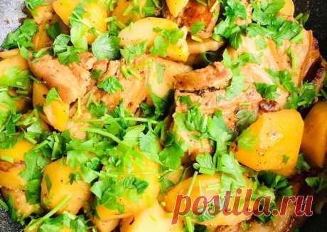 (8) Жаркое из бекона с картошкой - пошаговый рецепт с фото. Автор рецепта Irina Senina . - Cookpad