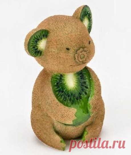 Фигурки из овощей и фрукт