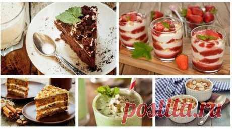 Пять десертов без сахара для тех, кто на диете