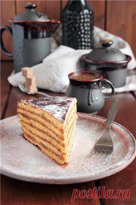 Торт Чайный (постный)