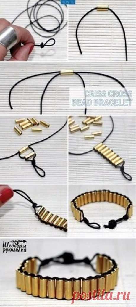 Легкие красивые браслеты — Сделай сам, идеи для творчества - DIY Ideas