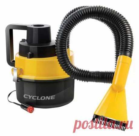 Автомобильный пылесос Starwind CV-120 черный/желтый, 93Вт, насадок 1шт, длина кабеля питания 3м Название бренда:STARWIND.Происхождение:Китай.Тип товара:Пылесос.Название Модели:CV-120.Циклонная технология:ДА.Мощность:93 Вт.Объем пылесборника:1,5 л.Уровень шума:84дБ.Питание:от прикуривателя 12 В.Длина сетевого кабеля:3 м..