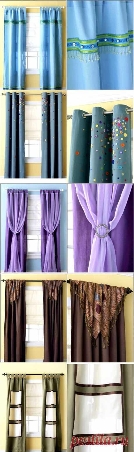8 cortinas (la elección de las ideas rápidas por la primavera) \/ las Cortinas \/ el sitio A la moda sobre el rehacimiento de estilo de la ropa y el interior