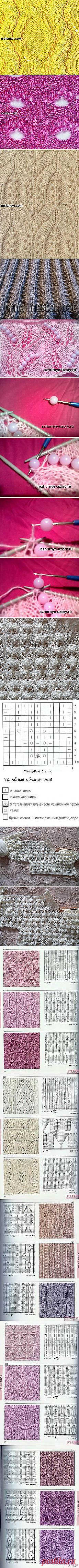 Nadezda Vasiljeva: KNITTING by SPOKES (patterns).   Постила.ru