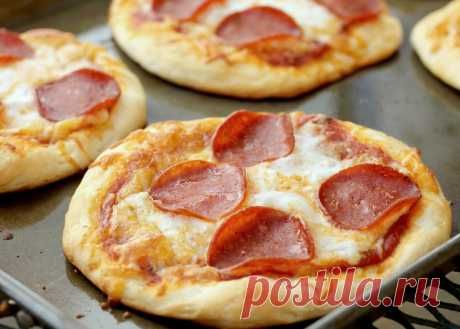 Мини-пицца: в 1 шт всего 114 ккал, это возможно? | Пицца на завтрак | Яндекс Дзен