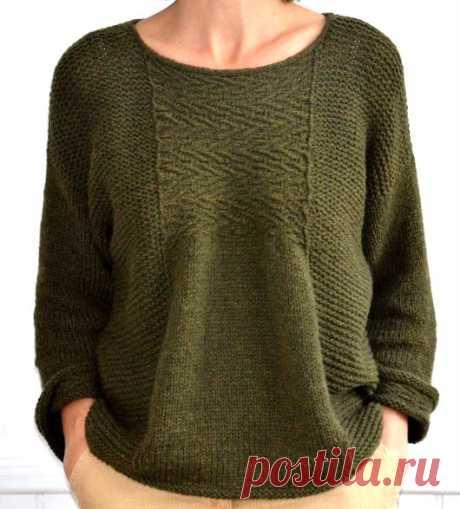 El pulóver Etranger tejido | la PERSONA casera