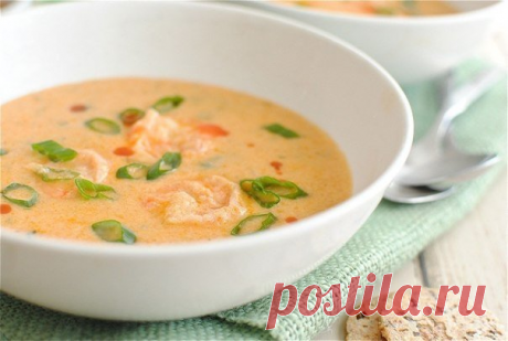Суп с креветками — Sloosh – кулинарные рецепты