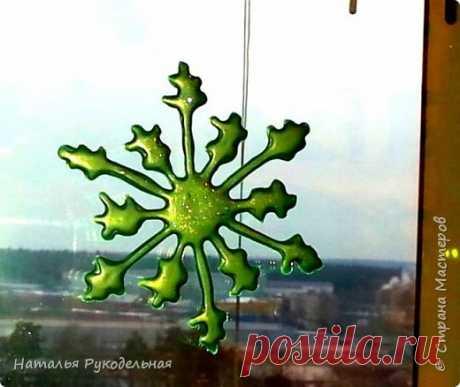 Нашлепка на окно или холодильник   Страна Мастеров